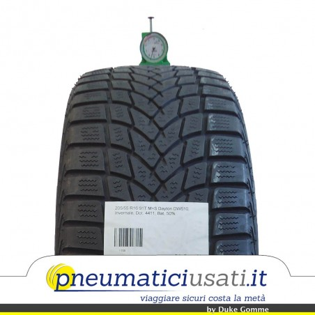 Dayton 205/55 R16 91T DW510 pneumatici usati Invernale